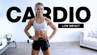 30 Min CARDIO WORKOUT at Home [LOW IMPACT STEADY STATE] LISS