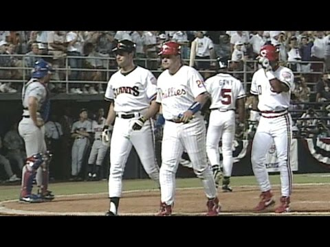 1992 ASG: Will Clark hits three-run homer in the 8th