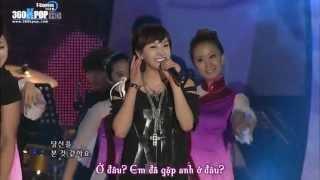 [Vietsub][Perf] Victoria, Luna, Junsu - Tian Mi Mi @KBS Open concert (25.07.10) {T-ex team}