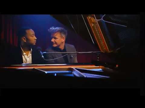 John Legend Sings Gordon Ramsay Quotes