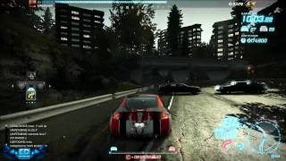 Need For Speed World Online Beta Pc Gameplay Police Chase  Maximum Settings 720p HD