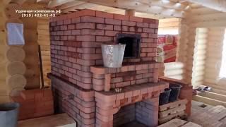 Печь с котлом отопления для дома 200 м2
