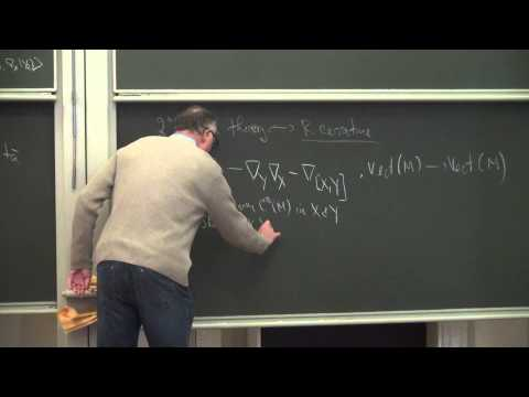 Lecture 1 | Introduction to Riemannian geometry, curvature and Ricci flow | John W. Morgan