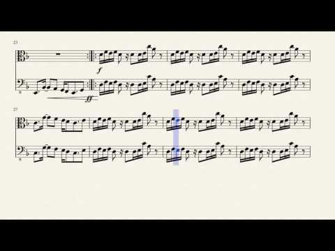 Asgore's Theme (Viola/Bass duet)