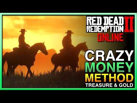 Red Dead Redemption 2 Online Money Glitch? EASY MONEY - RED DEAD ONLINE MONEY UPDATE! RDR2 Online thumbnail