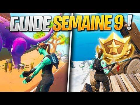GUIDE COMPLET des DÉFIS de la SEMAINE 9 SAISON 8 de FORTNITE ! (Fortnite Astuce) thumbnail