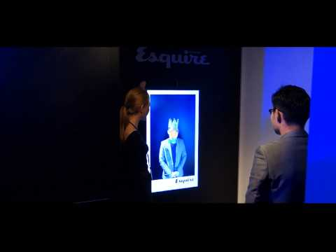 Leovation- Photo Booth - SCMP Esquire Magazine Gala Event