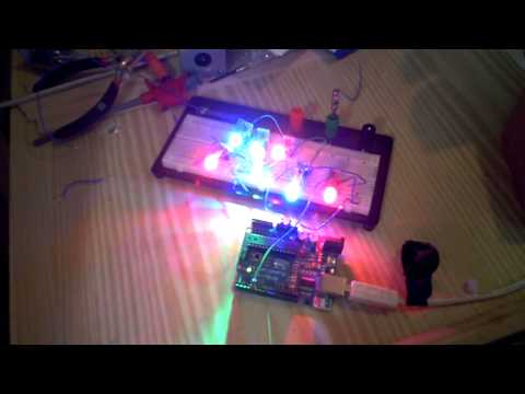 WS2812 Controled By Arduino Duemilanove