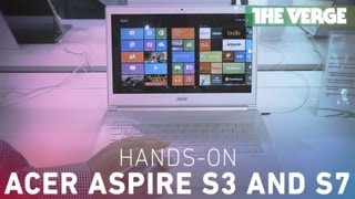 Acer Aspire S3 and S7 hands on