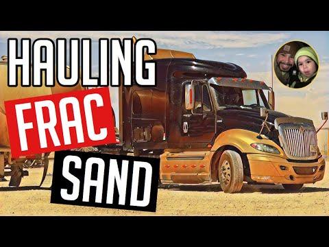 Frac Sand Hauling! Oilfield Trucking VLOG #138
