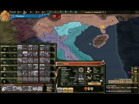 Let's Play EU3 Champa, pt.2: War with Brunei