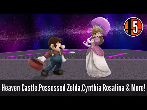 10 Custom Stages20 Character Skins & More  Super Smash Bros Wii U Mod Showcase 5