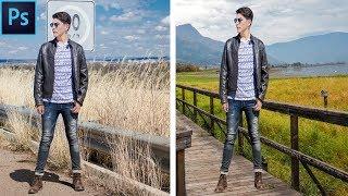 Photoshop Basic: How To Change Photo Background In Photoshop cs6 Remove Photo Background in 2 Minute
