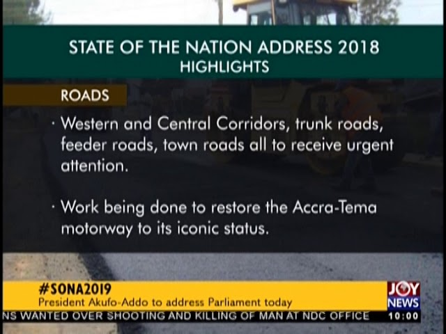 #SONA2019: President Akufo-Addo to address Parliament today (21-2-19)