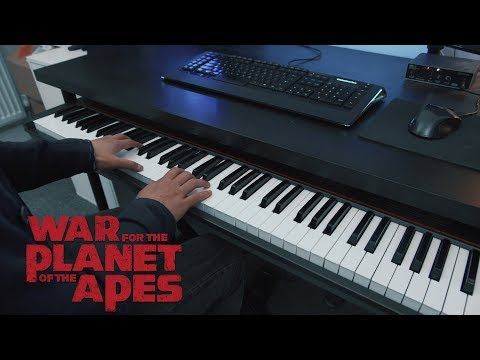Paradise Found- War for the Planet of the Apes (Piano)