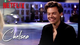 harry styles full interview chelsea netflix