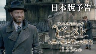 『ファンタスティック・ビーストと黒い魔法使いの誕生』予告2