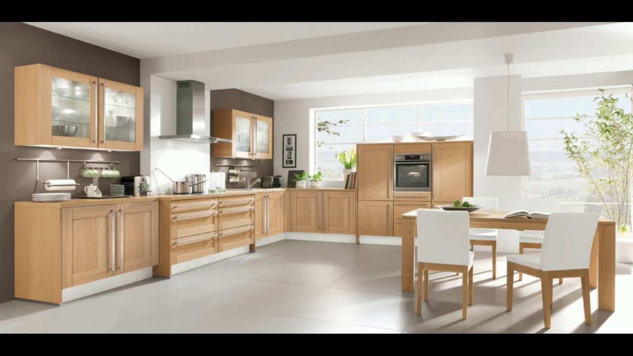 peinture pour meuble de cuisine en chene youtube. Black Bedroom Furniture Sets. Home Design Ideas