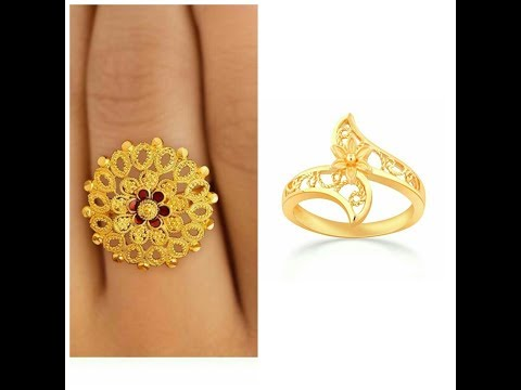 LATEST AND BEST GOLD RING DESIGN 2017