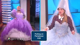ELLEN SHOW HEADS UP GAME With DREW BARRYMORE {ROYAL EDITION} Sö FUNNY MUST SEE
