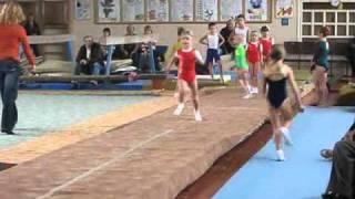 Спортивная  акробатика Харьков разминка дети