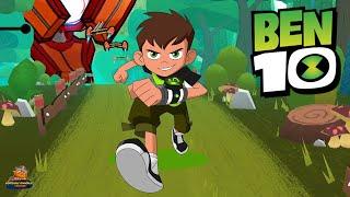 BEN 10 TAM GAZ Koşu Oyunu Level 30 - 34 Ben 10 Up To SPEED Gameplay Cartoon Networks Oyunları Games