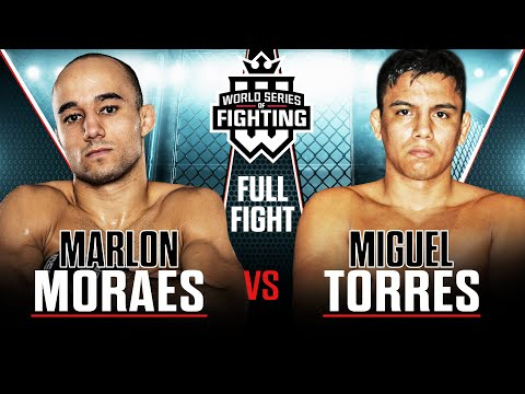 #WSOF1: Marlon Moraes vs. Miguel Torres Full Fight