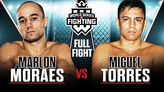 Full Fight   Marlon Moraes vs Miguel Torres   WSOF 1, 2012