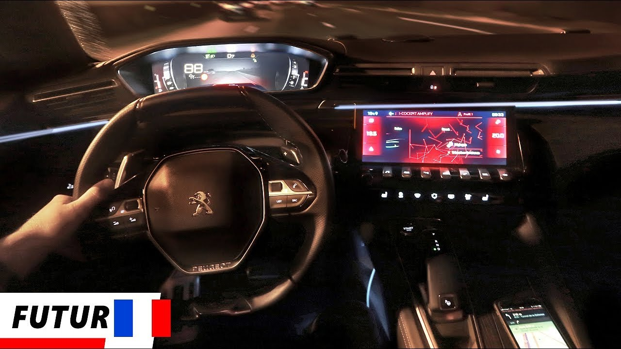Incroyable Le Night Vision Nouvelle Peugeot 508 Gt Sw Youtube