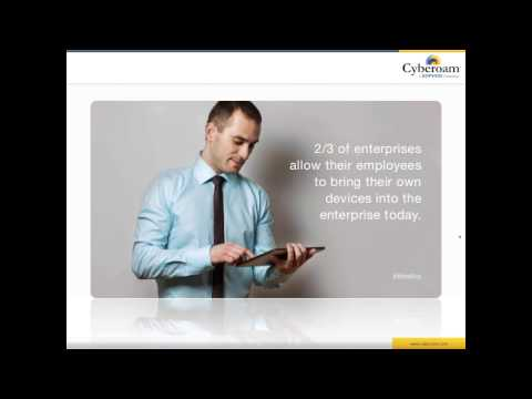 Webinar CYBEROAM : Êtes vous sécurisé contre les menaces Wifi ?