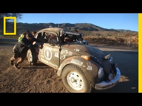 Racing 800 Miles in the Desert—in a VW Bug | National Geographic