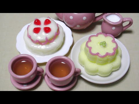 Kracie Happy Kitchen 5 Decoration Cake Kit 可吃