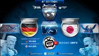 Clash of Clans Weltmeisterschaft | Deutschland gegen Japan | CWC | Clash of Clans live deutsch