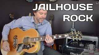 How to play Jailhouse Rock - Elvis Presley - Guitar Lesson