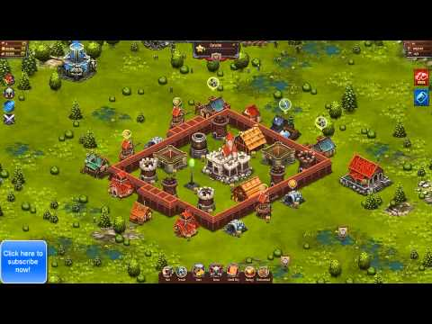 Throne Rush | Defense Tips And Tricks For Throne Rush Level 4 castle