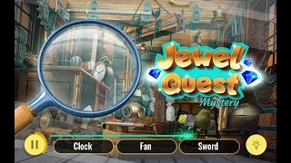 Jewel Quest Hidden Object Game   Treasure Hunt