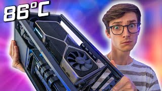 Gaming With An RTX 3080 Inside A TINY ITX Case! [NZXT H1, 650W PSU Gaming PC Build)