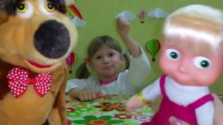 Настя и Медведь Игрушки Видео для детей