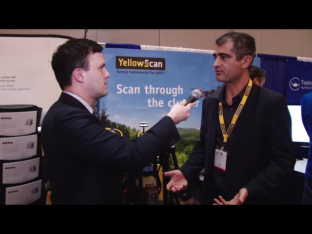 New Products and Updates from Yellowscan - ILMF 2018