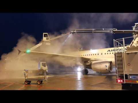 De icing A320 Air France