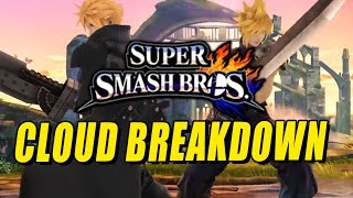 CLOUD BREAKDOWN & DISCUSSION with Max (Smash Bros 4)