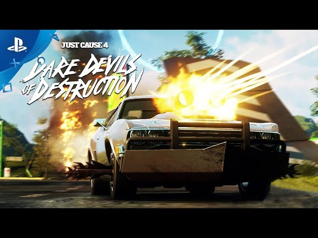 Just Cause 4 - Dare Devils of Destruction Trailer | PS4