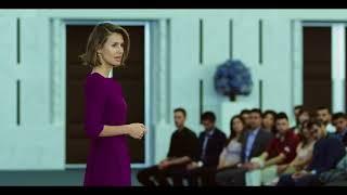 Асма аль-Асад на встрече с бизнесменами Сирии