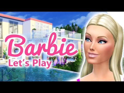 Let's Play The Sims 4 Barbie | Party Preparations | S02E29