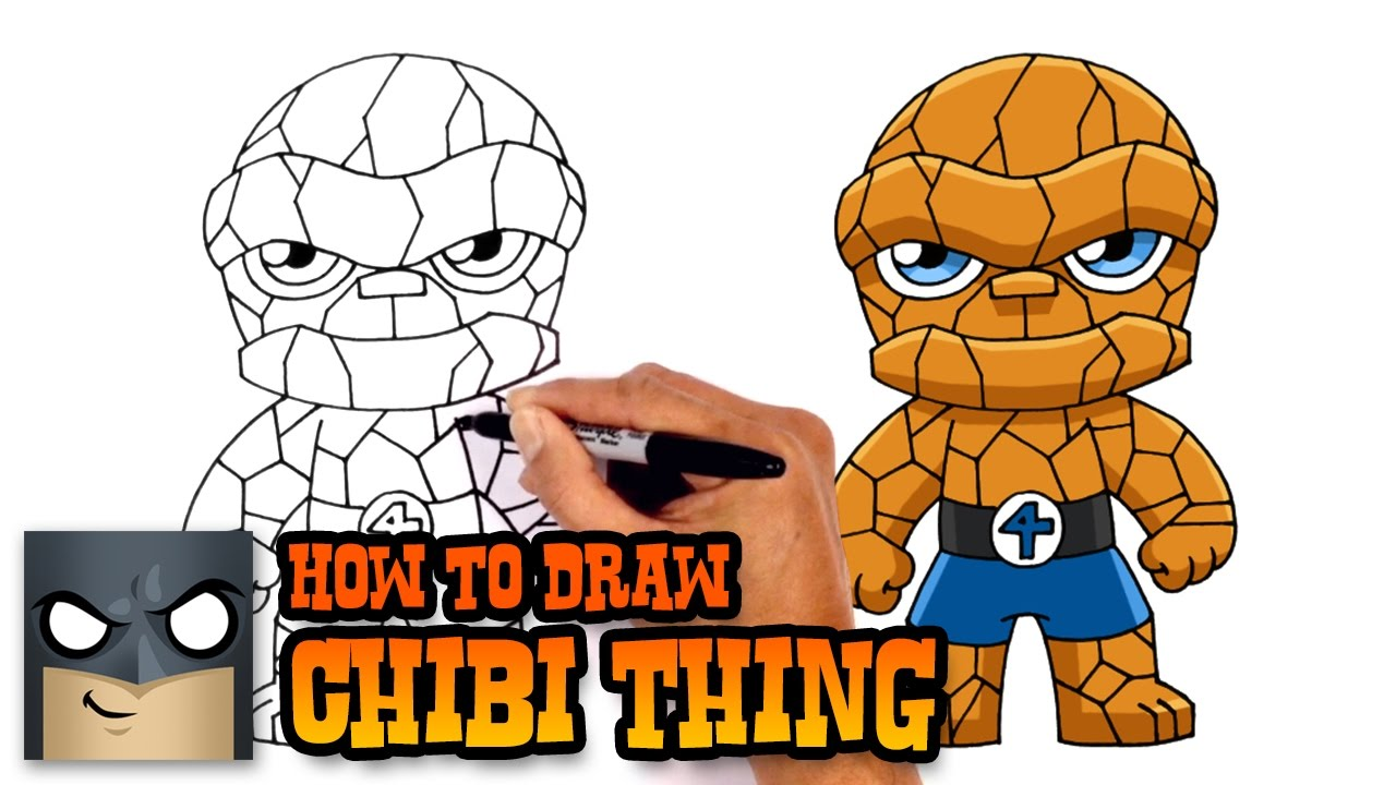 How to Draw Thing | Fantastic 4 - YouTube