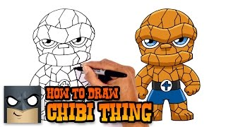 How to Draw Thing | Fantastic 4