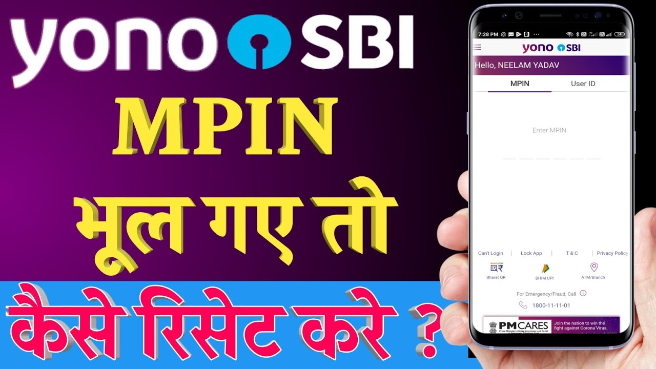how to reset sbi freedom mpin