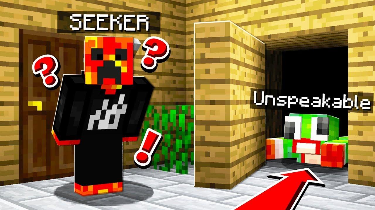 Finding Secrets In My World Minecraft Hide And Seek