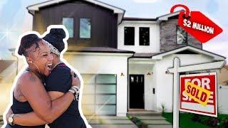 I Bought My Mom a $2 MILLION House !!!! *EMOTIONAL*