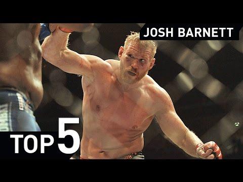 Josh Barnett Top 5 Submissions Highlight